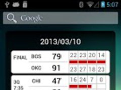 Basketball Widget 2.7.3 Screenshot