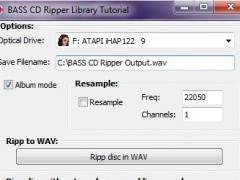 BASS CD Ripper Library 1.1.8.62 Screenshot