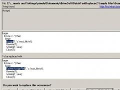 Batch Text Replacer 2.8 Screenshot