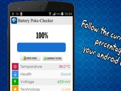 Battery Checker Tester 1.0 Screenshot
