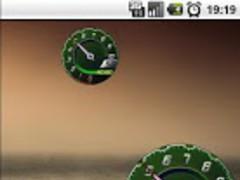 Battery Lamborghini Green Free 1.5 Screenshot