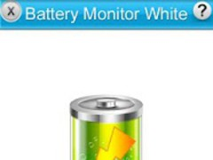 Battery Monitor HD White 1.2 Screenshot