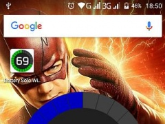 Review Screenshot - Battery Level Indicator – Know About Your Battery Power at a Glance