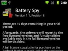 Battery Spy Full License 1.1 Screenshot