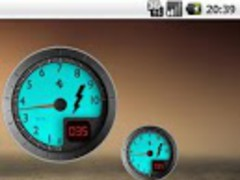 Battery Widget Ferrari 02 Free 1.5 Screenshot