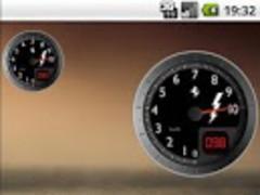 Battery Widget Ferrari 03 Free 1.5 Screenshot