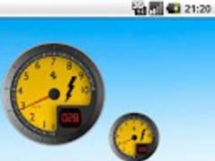 Battery Widget Ferrari Free 1.5 Screenshot