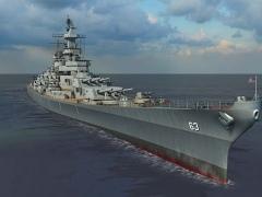 Battleship Missouri 3D Screensaver 1.1 Screenshot