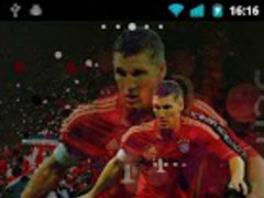 Bayern Munich Clock Widget 1.0 Screenshot