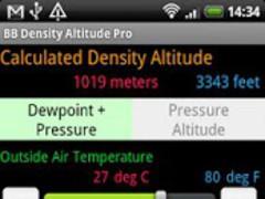BB Density Altitude Calculator 1.5.1 Screenshot