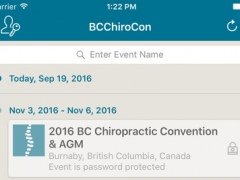 BC Chiropractic Association Convention 1.1 Screenshot