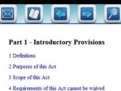 BC Employment Act Pro App 1.0 Screenshot