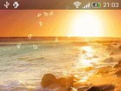 Beach At Night Live Wallpaper 2.1 Screenshot