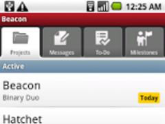 Beacon (for Basecamp Classic)  Screenshot