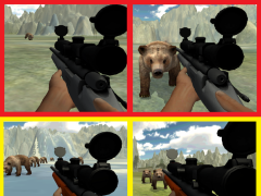 BEAR SNIPER HUNTER SURVIVE 3D 1.6 Screenshot