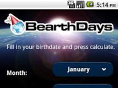 BearthDays Birthday calculator 1.4 Screenshot