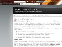 Beat Maker Software 1.0 Screenshot