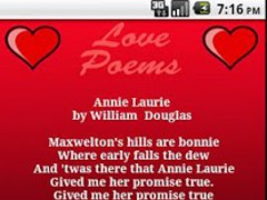 Beautiful Love Poems 1.2 Screenshot