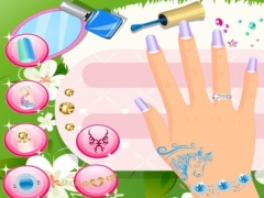 Beautiful Nails Salon - Girls Games 2.0.3 Screenshot