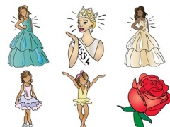 Beauty Pageant Stickers 1.1 Screenshot