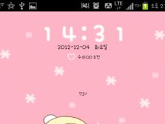 Bebe Snowman go locker theme 1.00 Screenshot