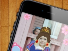 Become a Princess - Editor of amazing photos with stickers to change images 1.2 Screenshot