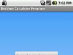 Bedtime Calculator Premium 1.1 Screenshot