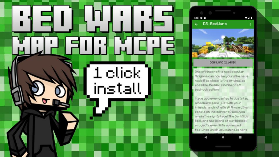 Bedwars Maps For Mc Pocket Edition 1 2 2 Free Download