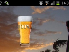 Beer in Glass HD Battery 3.0 Screenshot