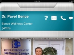 Bence Chiropractic App HD 1.0 Screenshot