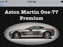 Best Cars Collection for Aston Martin One-77 Photos and Videos 3.0.17 Screenshot