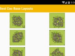 Best Coc Base Layouts 1.0 Screenshot