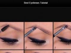 Best Eyebrows Tutorial 1.0 Screenshot