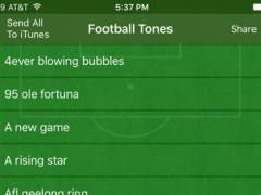 Best Football Ringtones Ever! 1.0 Screenshot