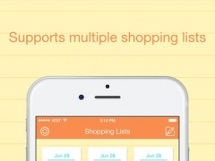 Best Shopping List - Smart Gift, Holiday, Christmas & Food Lists 3.2 Screenshot