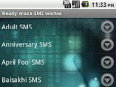 Best SMS Wishes & Phrases 1.0 Screenshot