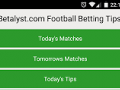 Betalyst Football Betting Tips 23.0 Screenshot