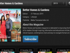 Better Homes and Gardens India  Screenshot
