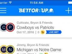 BettorUp Football 1.7 Screenshot