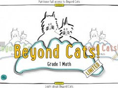 Beyond Cats! Math Practice for Grades K,1 and 2 Aligned to the Common Core Standards 2.4 Screenshot