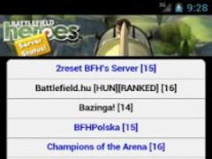 BFH Server Status 1.4 Screenshot