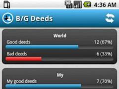 BGDeeds 1.0 Screenshot
