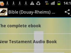 Bible (Douay-Rheims) Ad-Free 1.0 Screenshot