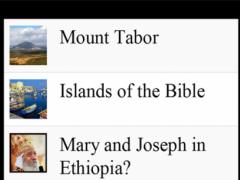 Bible Geography 2.5 Screenshot