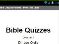 Bible Quizzes 1.0 Screenshot