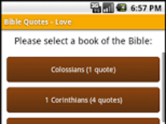 Bible Quotes - Love 4.0 Screenshot