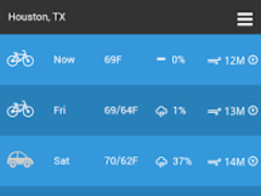 Bicycle Weather 9.0.8 Screenshot