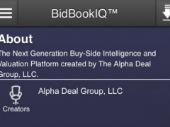 BidBookIQ™ 1.0 Screenshot