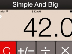 BIG CALCULATOR PLUS 0.1 Screenshot