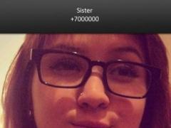 BIG! caller ID Theme Sensitive 1.2 Screenshot